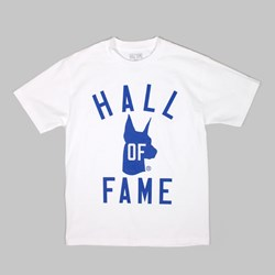 HALL OF FAME HALL OF DAWGS T SHIRT WHITE