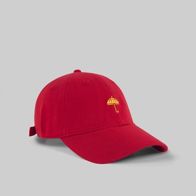 HELAS CLASSIC UMB DAD CAP RED