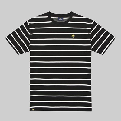 HELAS CLASSIC STRIPED T-SHIRT BLACK