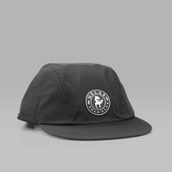 HELAS POLO CLUB NYLON 3 PANEL CAP BLACK