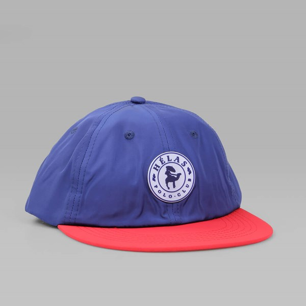 HELAS Polo Club Navy Red 6 Panels Cap
