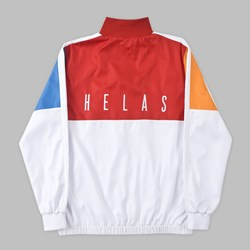 HELAS RUSH TRACK JACKET WHITE