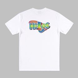 HELAS SPACE FAM SS T-SHIRT WHITE