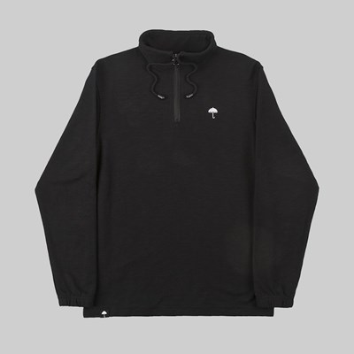 HELAS STORM QUARTER ZIP FLEECE BLACK