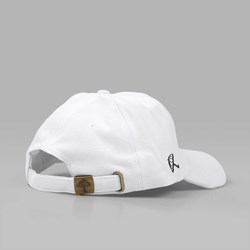 HELAS SUNDAY COTTON PIQUE 6 PANEL CAP WHITE