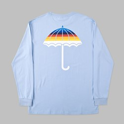 HELAS UMB MULTICO LONG SLEEVE TEE PASTEL BLUE