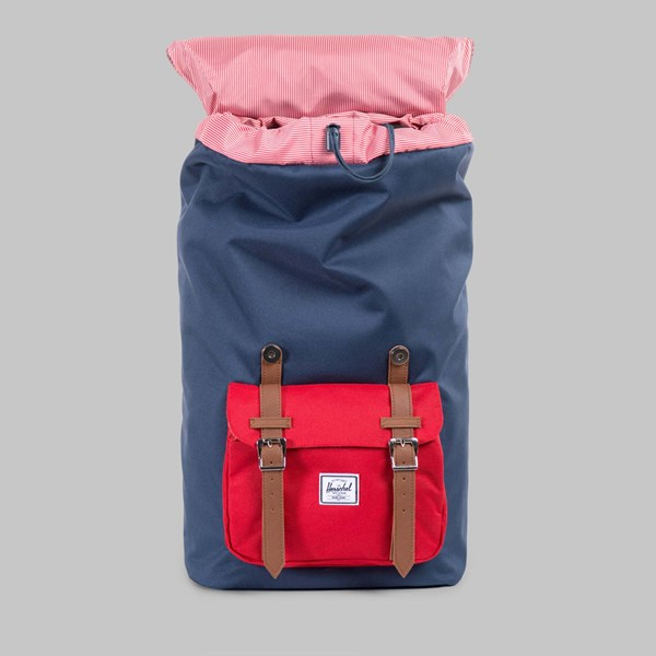 HERSCHEL LITTLE AMERICA BACKPACK NAVY RED