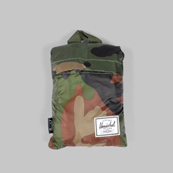 HERSCHEL PACKABLE HIKER BACKPACK WOODLAND CAMO