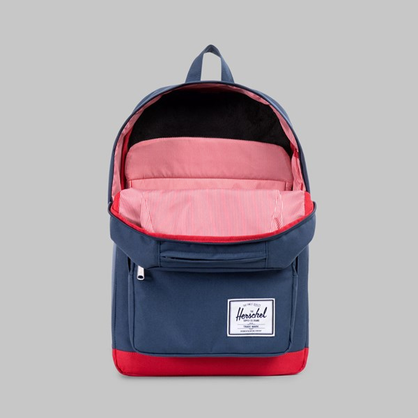 HERSCHEL POP QUIZ BACKPACK NAVY RED