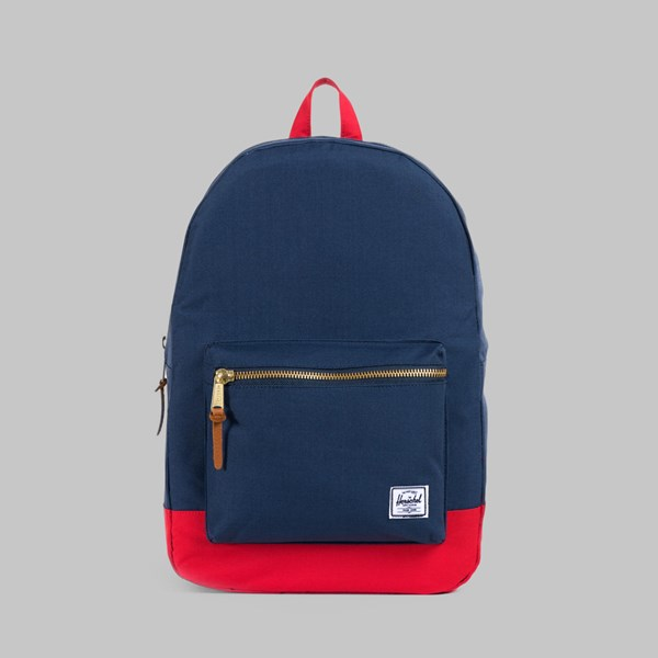 HERSCHEL SETTLEMENT BACKPACK NAVY/RED