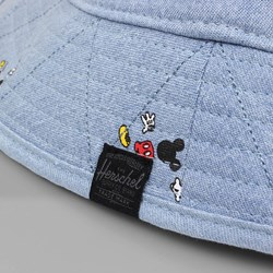 HERSCHEL X DISNEY Creek Hat Washed Denim Large
