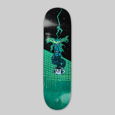 POLAR SKATE CO. HJALTE HALBERG 'DRAGON STRIKE' DECK 8.5""