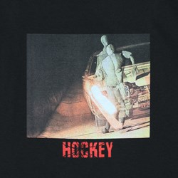 HOCKEY CRASH TEST TEE BLACK
