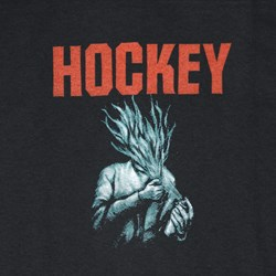 HOCKEY FLAMMABLE TEE BLACK