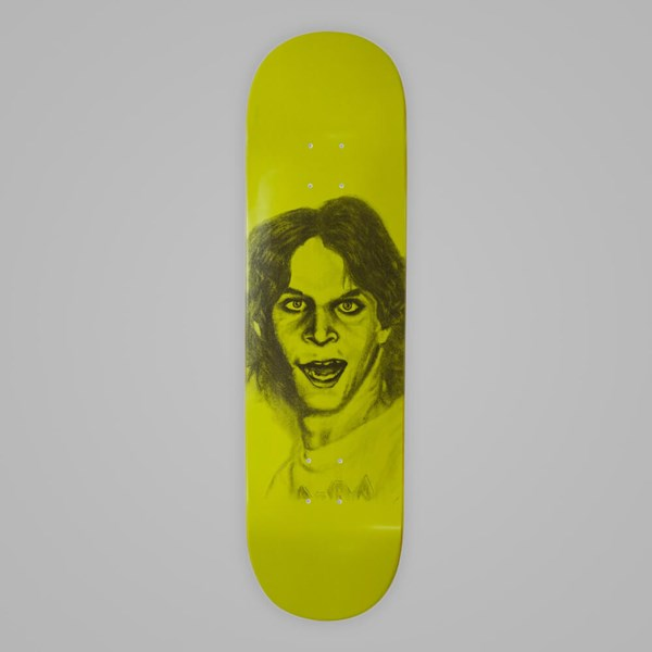 HOCKEY SKATEBOARDS KASSO DECK GREEN 8.5""