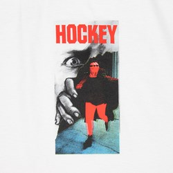 HOCKEY ONE EYE TEE WHITE