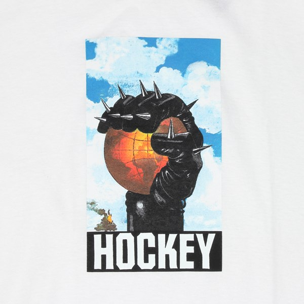 HOCKEY SKATEBOARDS SPIKE SS T-SHIRT WHITE