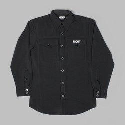 HOCKEY STAY PRESS BUTTON DOWN SHIRT BLACK