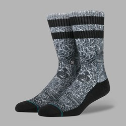 STANCE HOFFMAN VIA BELLA SOCKS BLACK