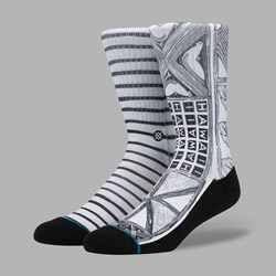 STANCE HOFFMAN VIA LOPEZ SOCKS WHITE