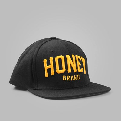 HONEY BRAND CORE ICON CAP BLACK