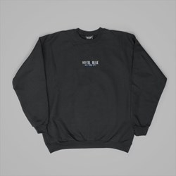 HOTEL BLUE HBNYC CREW SWEAT BLACK