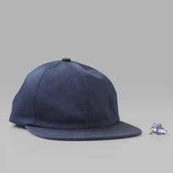 HOTEL BLUE SKATEBOARDS CAP & PIN BADGE NAVY