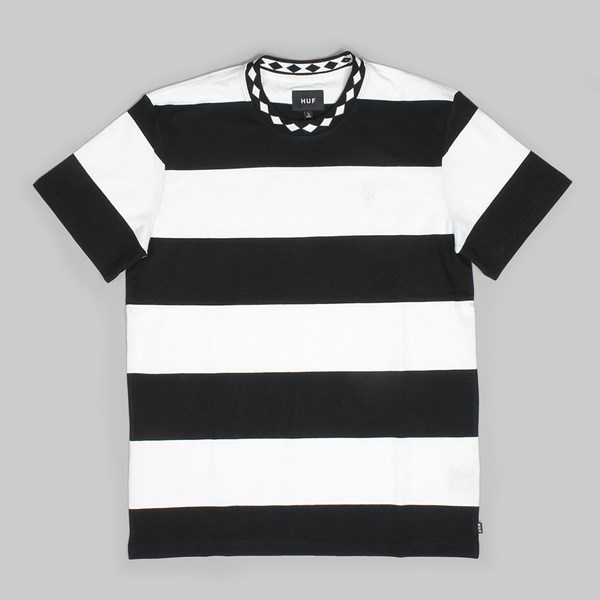 HUF ACE STRIPE SHIRT BLACK