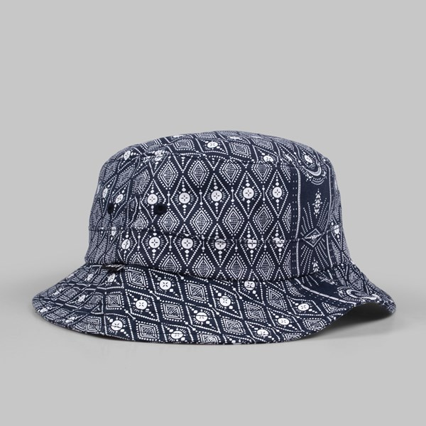 HUF BANDANA BUCKET HAT NAVY