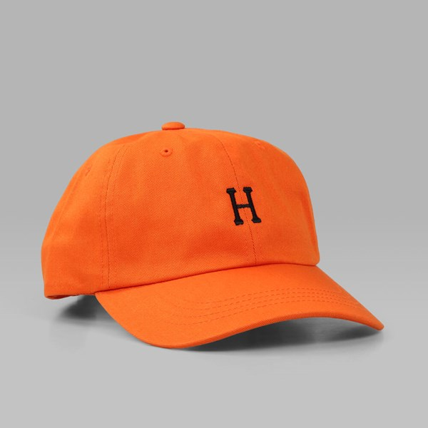 HUF CLASSIC H CURVED BRIM DAD CAP ORANGE
