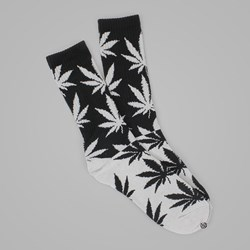 HUF COLOR BLOCK PLANTLIFE CREW SOCK BLACK-GREY