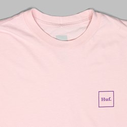 HUF DOMESTIC LONG SLEEVE T-SHIRT PINK