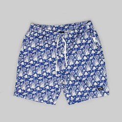 HUF DON'T TRIP EASY SHORT TWILIGHT BLUE