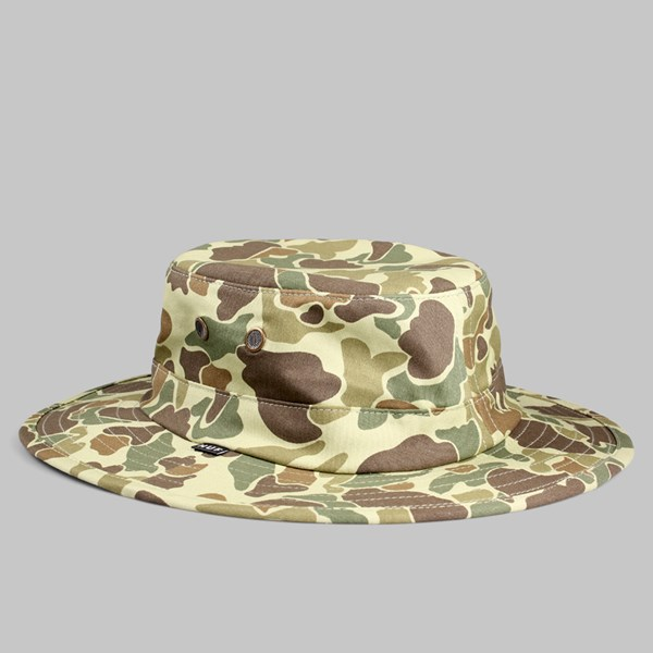 HUF DUCK CAMO JUNGLE HAT OLIVE