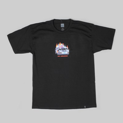 HUF GAME OVER SS T-SHIRT BLACK