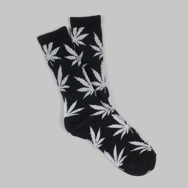 HUF GLOW IN THE DARK PLANTLIFE SOCK BLACK