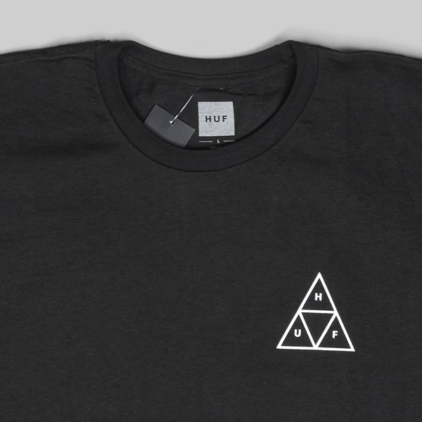 HUF GOOD TRIPS TRIANGLE SS T-SHIRT BLACK