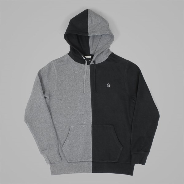 HUF HENRY PULLOVER HOOD BLACK CHARCOAL