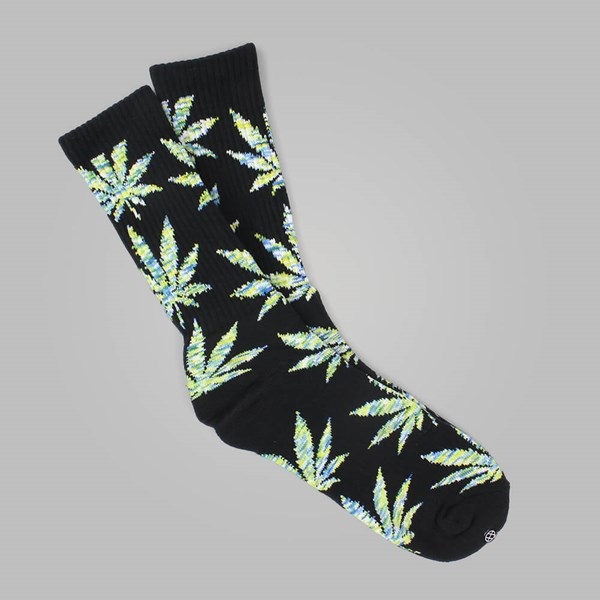 HUF MELANGE PLANTLIFE SOCK GREY BLACK GREEN