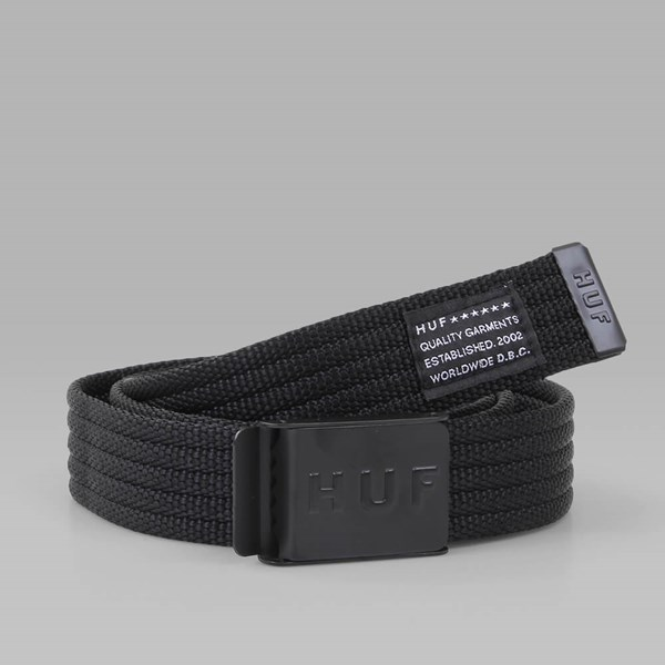 HUF MILITARY BELT BLACK