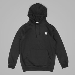 HUF MUTED MILITARY CLASSIC H PULLOVER HOOD BLACK