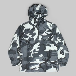 HUF PEAK ANORAK JACKET WHITE CAMO