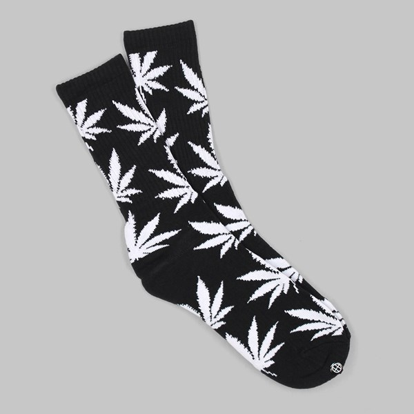 HUF PLANTLIFE SOCK BLACK WHITE