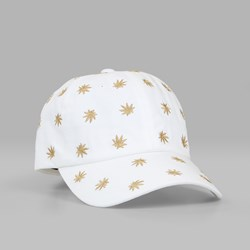 HUF PREMIUM PLANTLIFE EMB DAD HAT WHITE