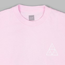 HUF ROSES TRIPLE TRIANGLE SS T-SHIRT PINK