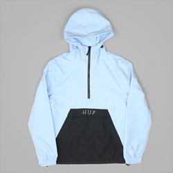 HUF SHADOW ANORAK JACKET POWDER BLUE