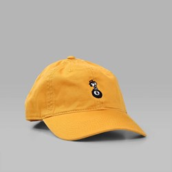 HUF SPIKE 8 BALL DECONSTRUCTED CAP GOLD