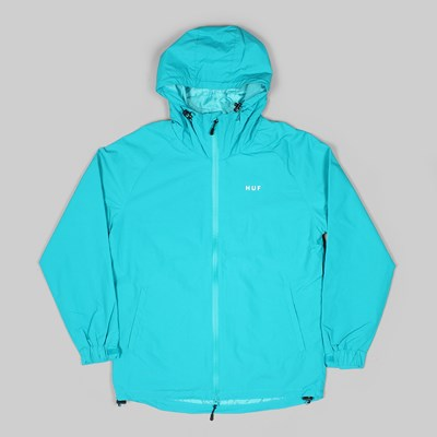 HUF STANDARD SHELL JACKET TROPICAL GREEN