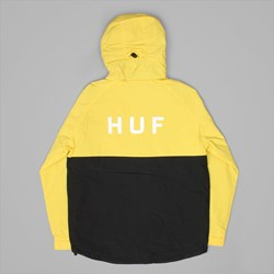 HUF STANDARD SHELL JACKET YELLOW-BLACK