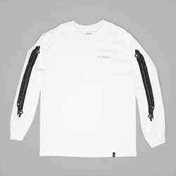 HUF STRETCH LIMO LONG SLEEVE T-SHIRT WHITE
